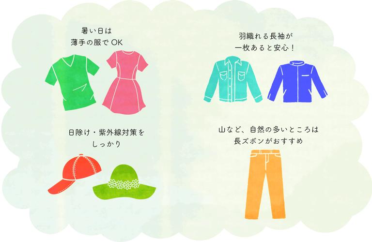 季節の服装